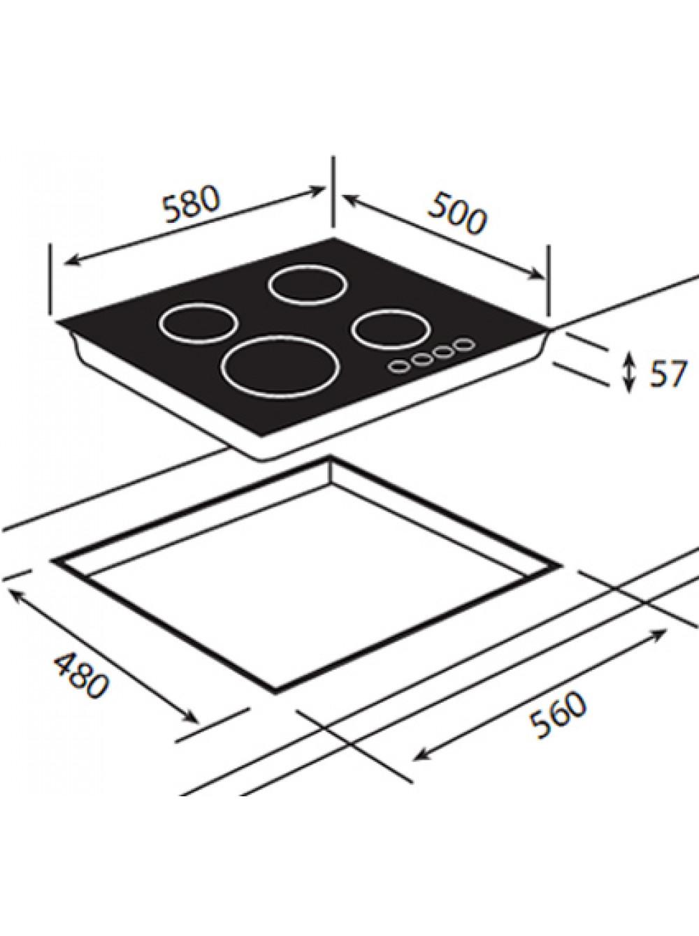 Схема установки газовых плит